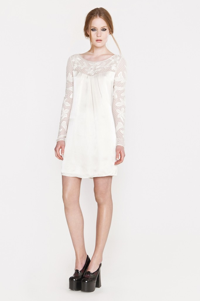 Simple-lwd-for-the-wedding-reception-with-sheer-lace-sleeves.full