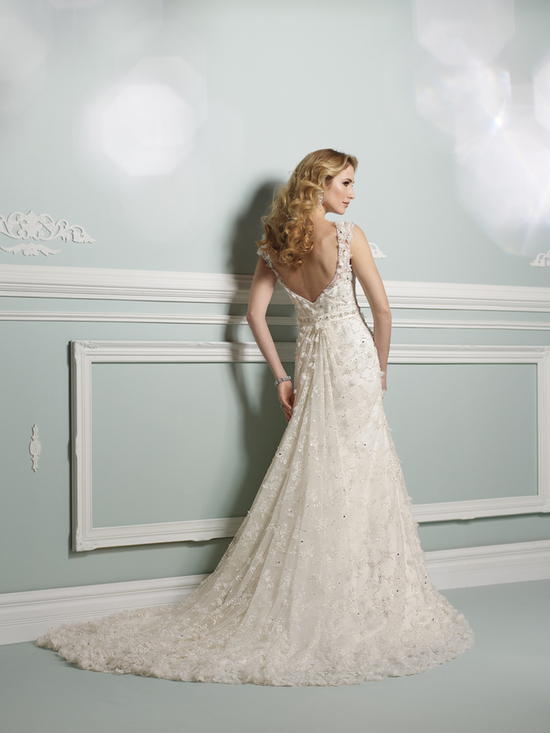 wedding dress james clifford collection mon cheri fall 2012 bridal gown J21272