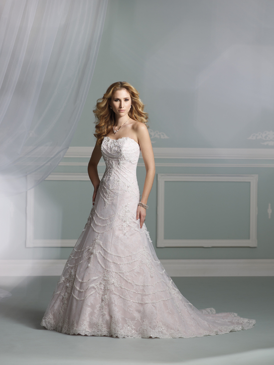 wedding dress james clifford collection mon cheri fall 2012 bridal gown J21270