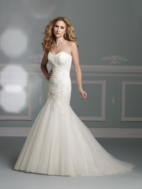 wedding dress james clifford collection mon cheri fall 2012 bridal gown J21268
