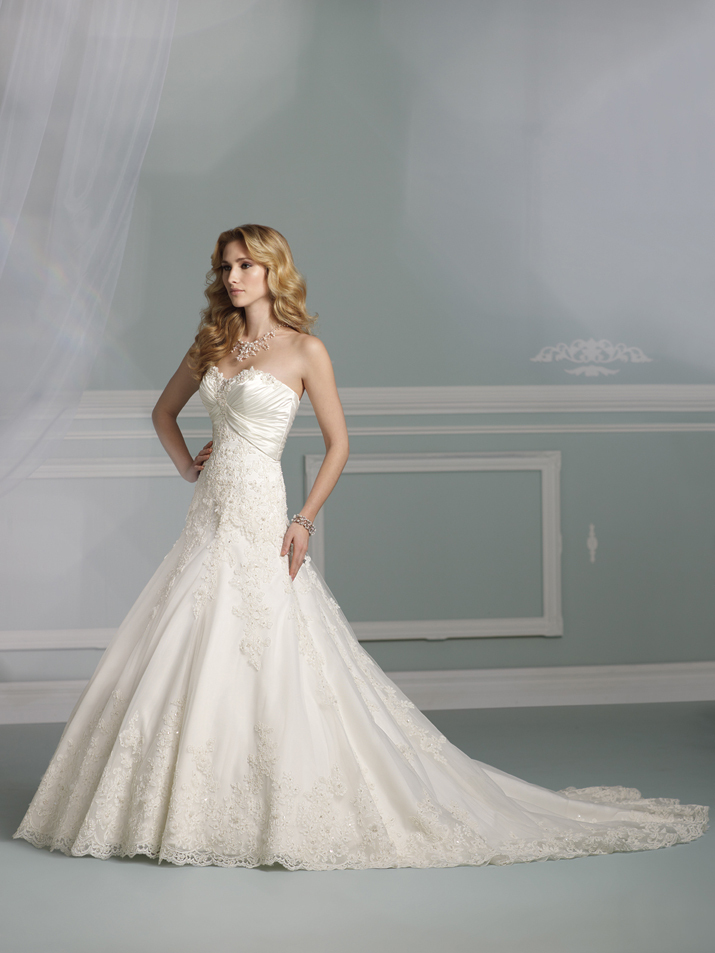 wedding dress james clifford collection mon cheri fall 2012 bridal gown J21266
