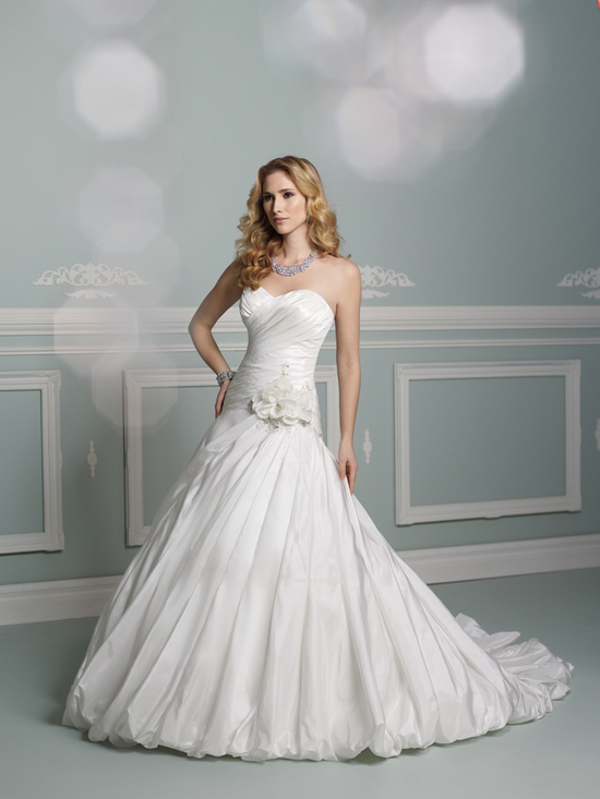 wedding dress james clifford collection mon cheri fall 2012 bridal gown J21261