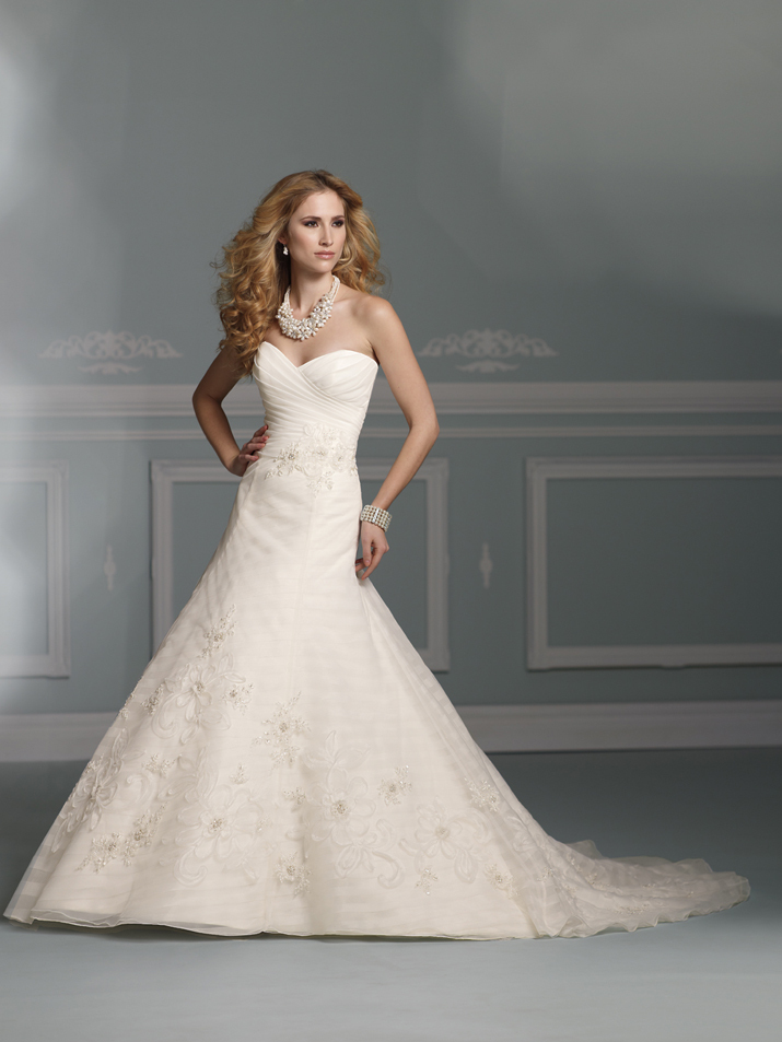 wedding dress james clifford collection mon cheri fall 2012 bridal gown J21260