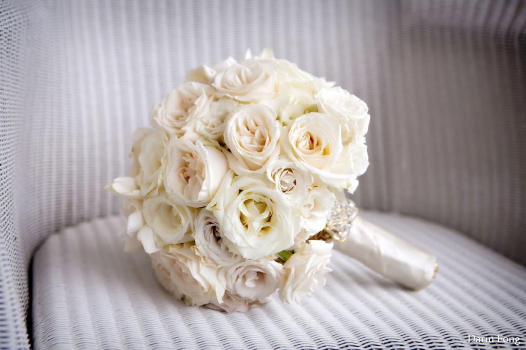 Classic Ivory Bridal Bouquet Elegant Wedding Flowers