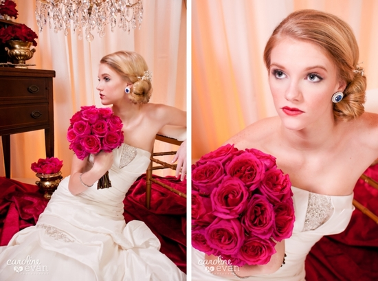 photo of The Many Sides of a Gorgeous Vintage Bride
