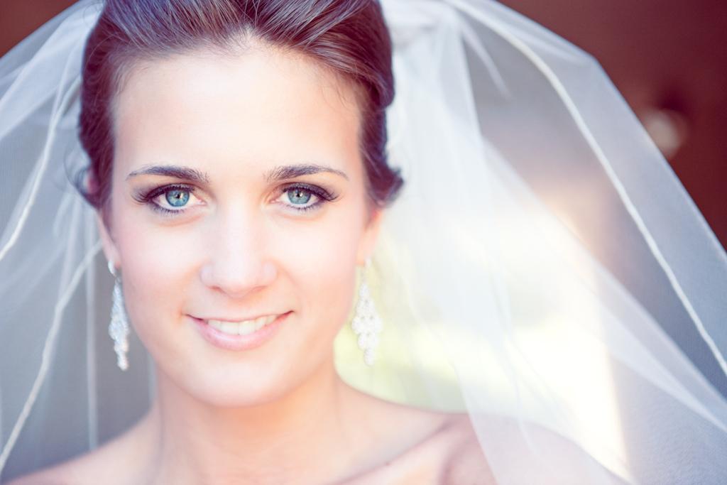 Full Bridal Makeup : bridal beauty natural wedding makeup tulle bridal veil ...