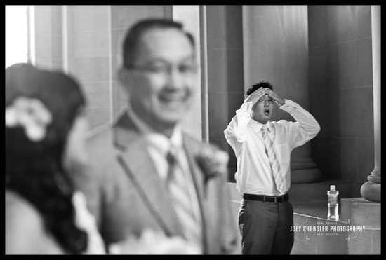 funny real wedding photos black and white nervous groom