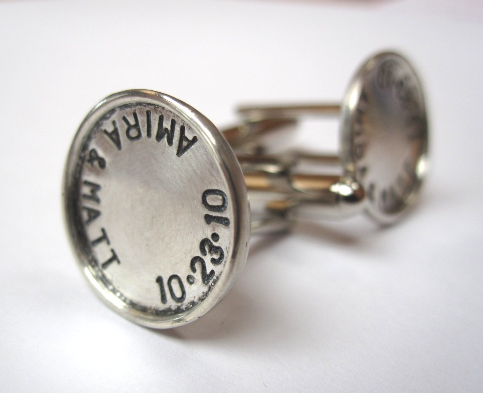 DIY Personalized Cufflinks — Crafthubs