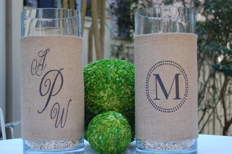 rustic-wedding-decor-burlap-wrapped-hurricane-vases.original.jpg ...