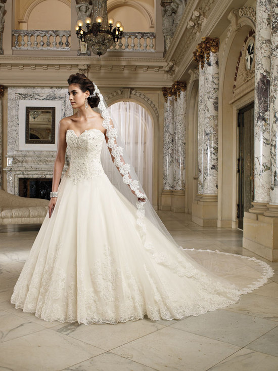 wedding dress david tutera fall 2012 mon cheri bridal gown nevaeh 212245