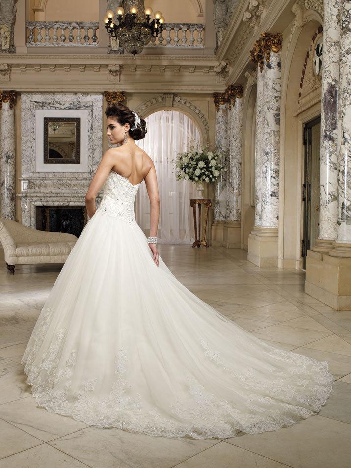 wedding dress david tutera fall 2012 mon cheri bridal gown nevaeh 212245