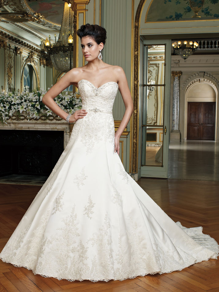 wedding dress david tutera fall 2012 mon cheri bridal gown laney
