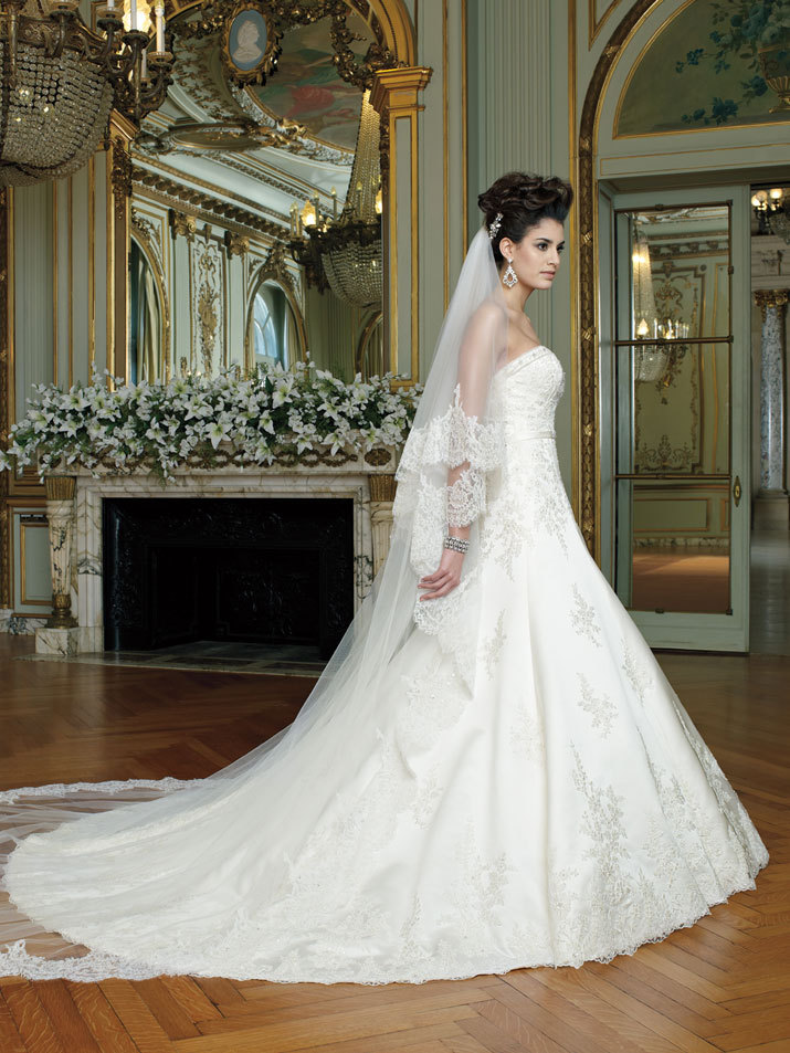 Wedding Dress David Tutera Fall 2012 Mon Cheri Bridal Gown Laney 212250