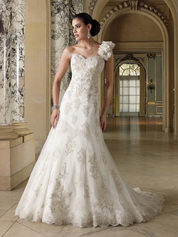 Wedding Dress David Tutera Fall 2012 Mon Cheri Bridal Gown Korrin 212257 On
