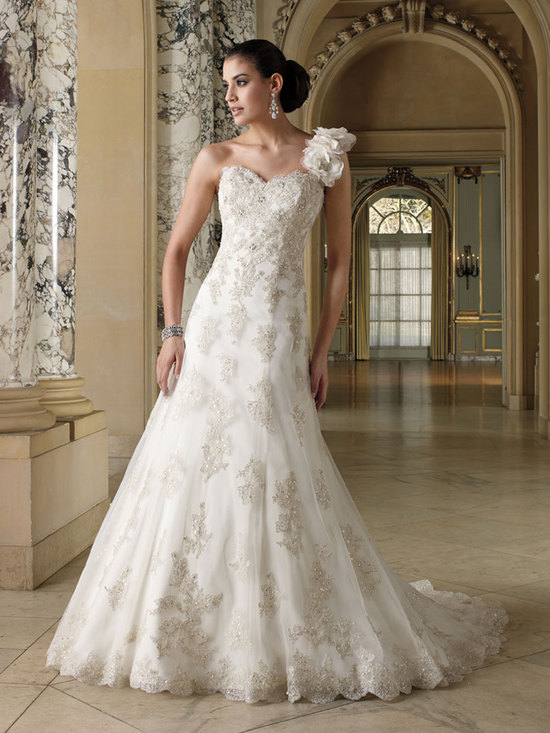 wedding dress david tutera fall 2012 mon cheri bridal gown korrin 212257