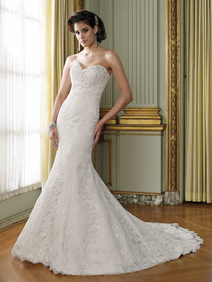 Wedding Dress David Tutera Fall 2012 Mon Cheri Bridal Gown