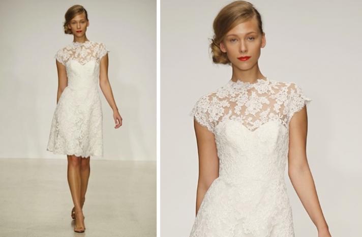 Pretties Little White Wedding Dresses Spring 2013 Amsale Lace Full