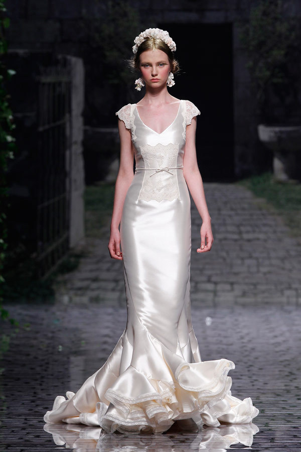 photo of Creamy Dreamy Wedding Dresses