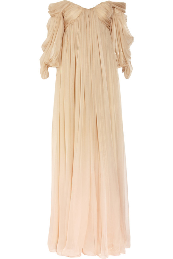 degrade silk chiffon wedding dress by alexander mcqueen