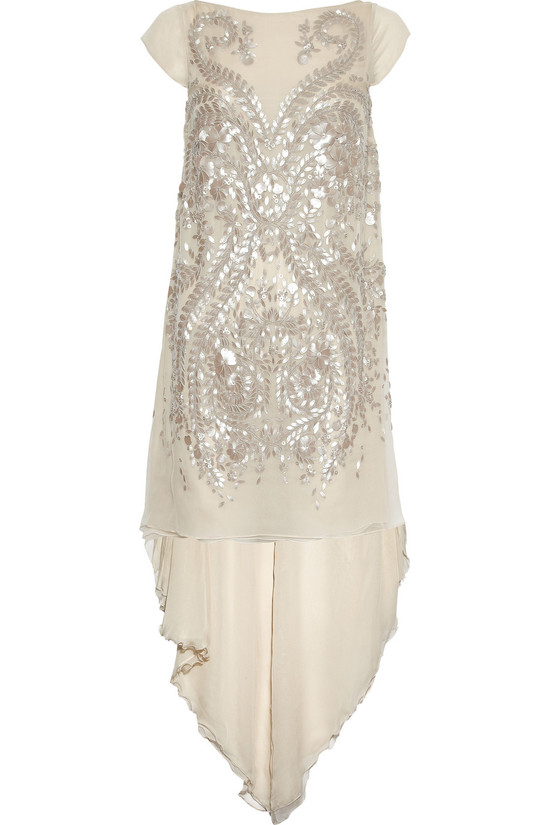 embellished cream LWD