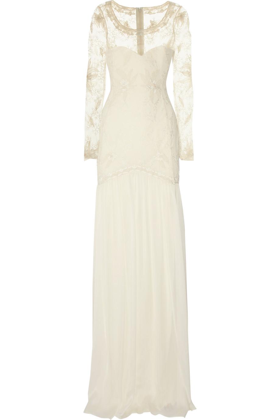 Temperley-london-wedding-dress-cream-with-sheer-sleeves.full