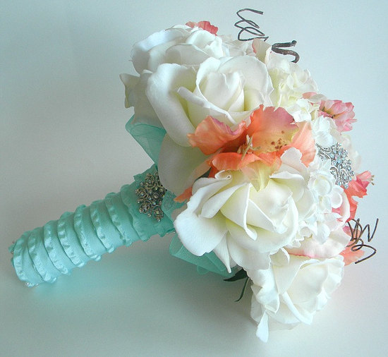 non fresh bridal bouquet Etsy wedding treasures