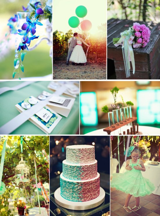 daqueri ice wedding colors cool summer palette