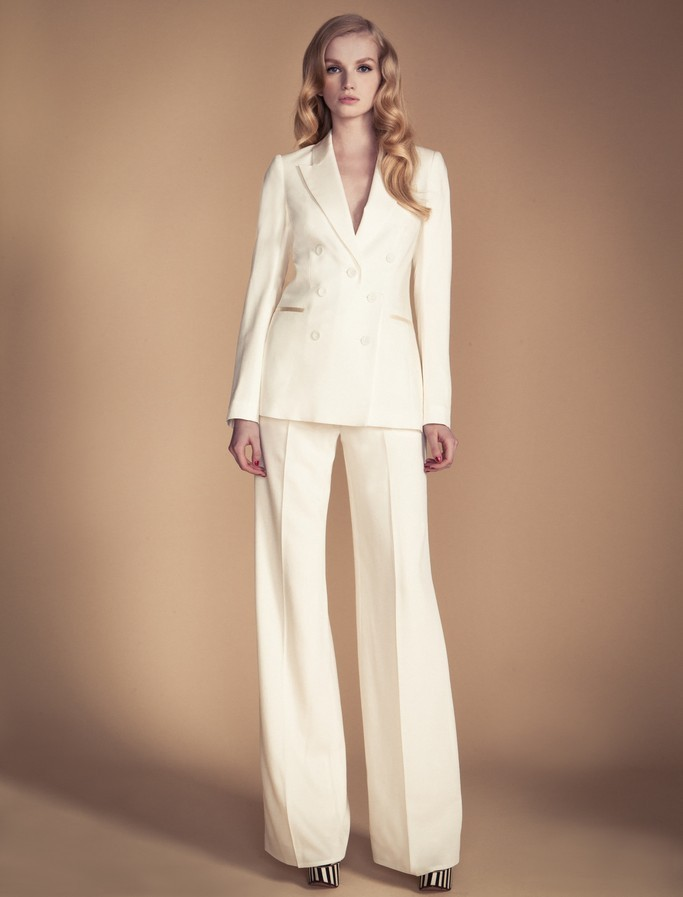 Ivory Wedding Suit By Temperley London