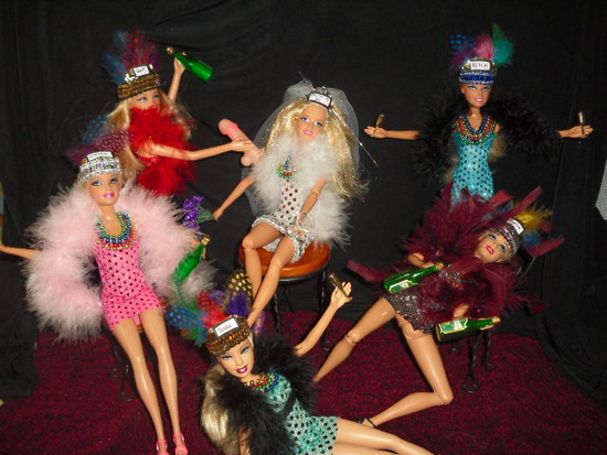 Bachelorette Party Barbies by dakotassong
