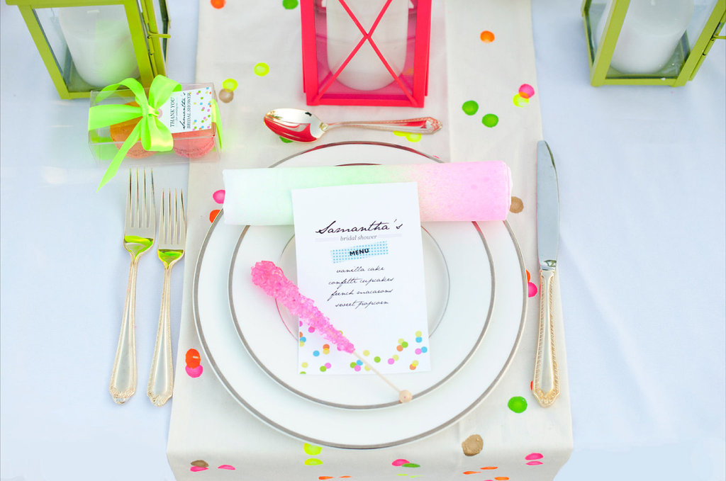 Neon-wedding-ideas-outdoor-bridal-shower.full
