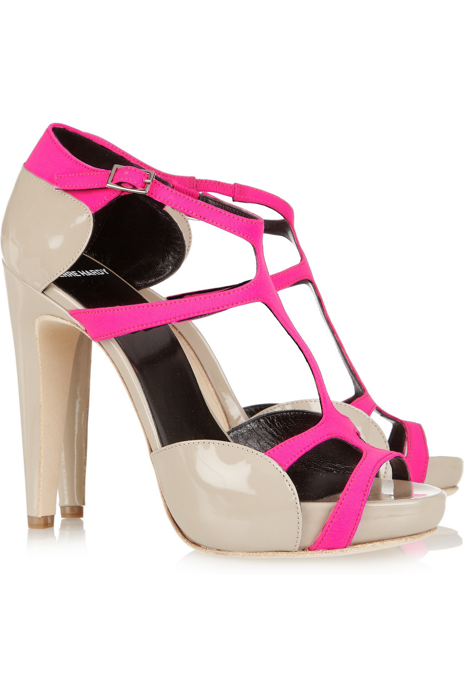 hot pink wedding shoes bridal splurge accessories 1
