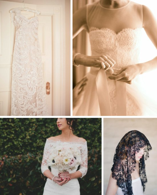 lace wedding dresses for romantic brides