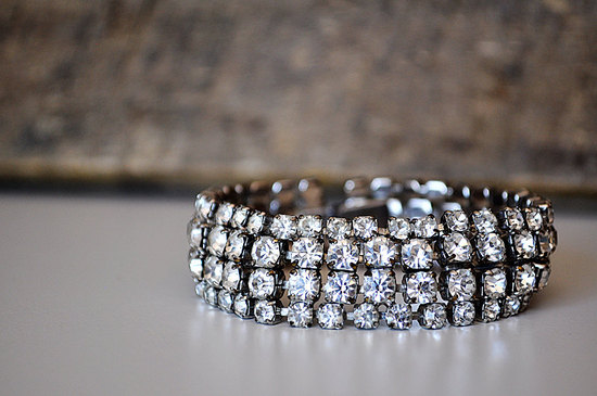 photo of Vintage rhinestone wedding bracelet