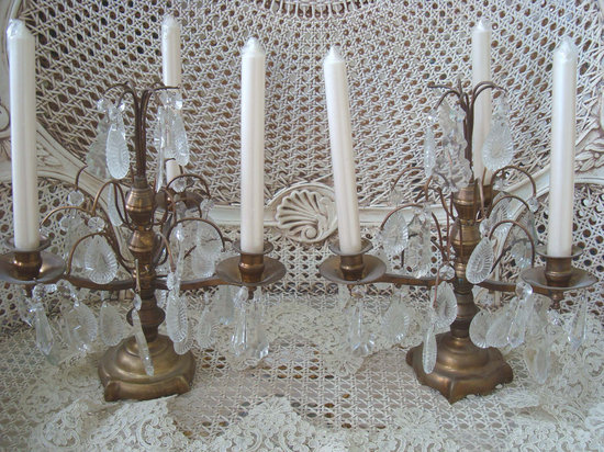 vintage candelabras for vintage wedding reception