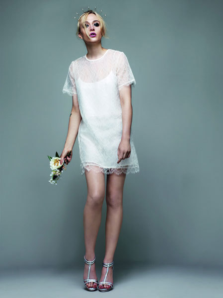 photo of new bridal designer for non traditional brides Topshop bridal 2