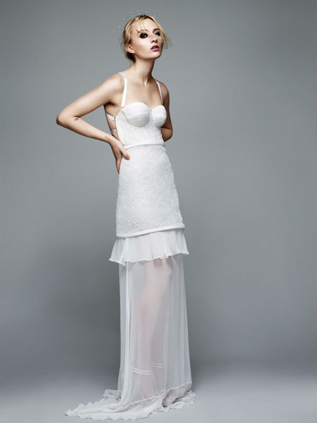 First Look- Topshop's new bridal collection for non traditional brides