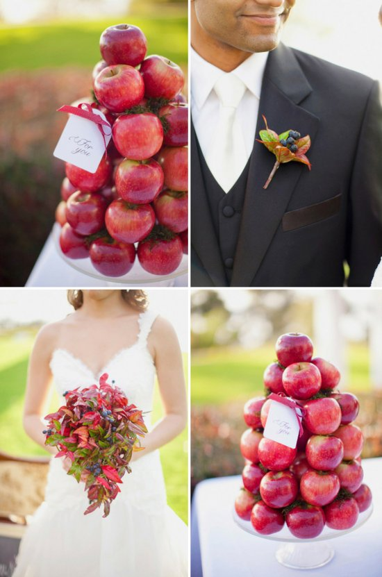 photo of Edible Arrangements: Wedding Bouquets, Centerpieces & Bouts for the Groom