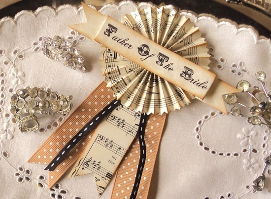 antique wedding accessories for vintage brides father of the groom boutonnieres