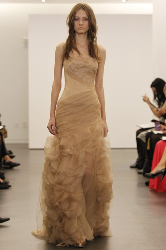 wedding dress vera wang bridal gowns fall 2012 joy