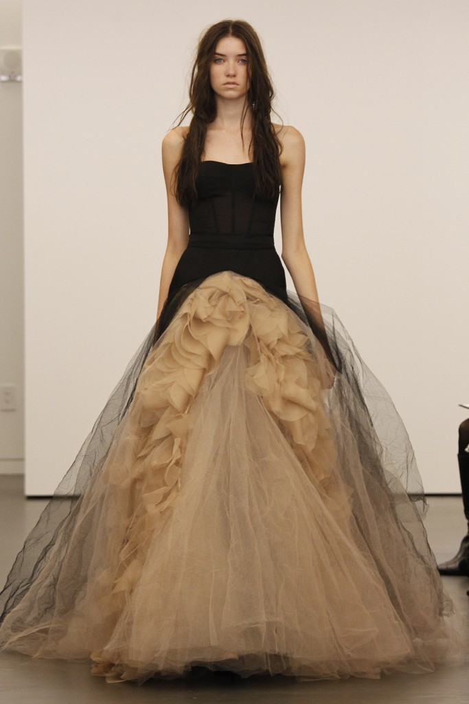 wedding dress vera wang bridal gowns fall 2012 joelle