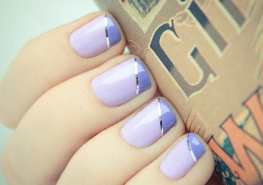 Pastel Purple Nail Designs Images