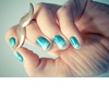 Ombre-blue-teal-wedding-nails-brides-something-blue.square