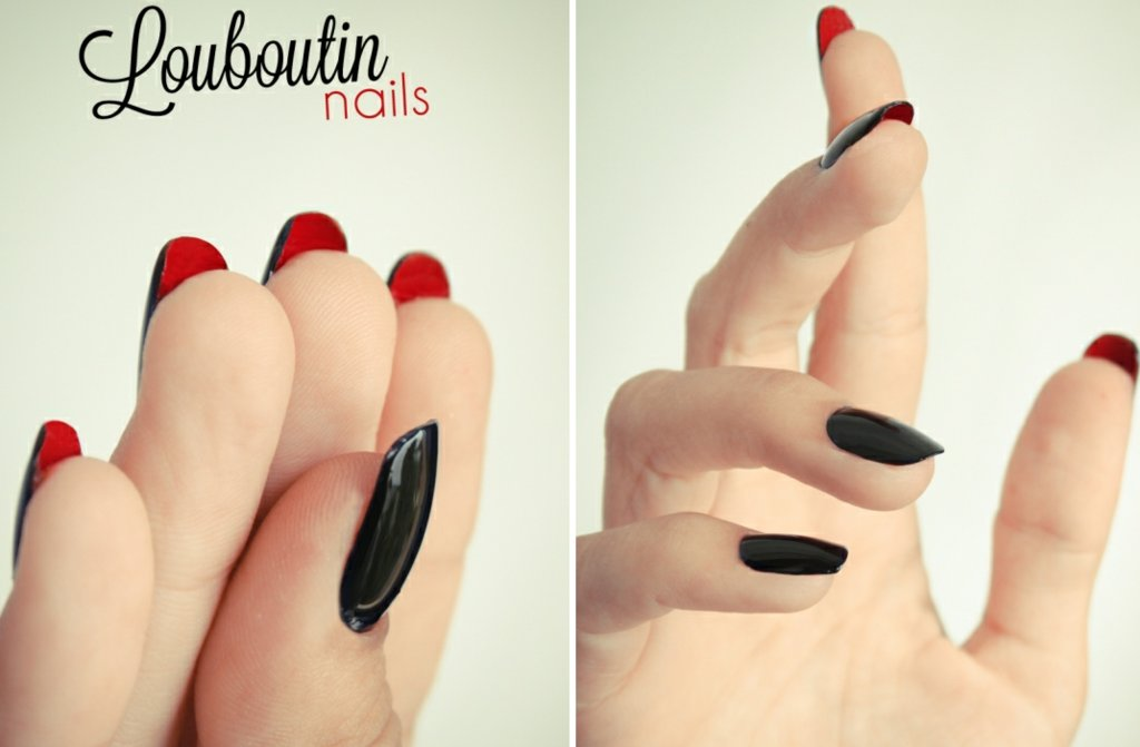 Funky-wedding-nail-art-for-modern-stylish-brides-black-red-christian-louboutin.full