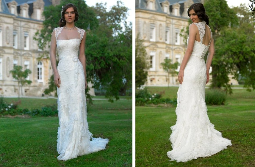 romantic wedding dresses by stephanie allin 2012 bridal gown lace corset