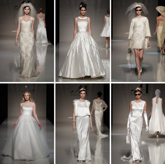 2013 wedding dress trends from London bridal style LWDs