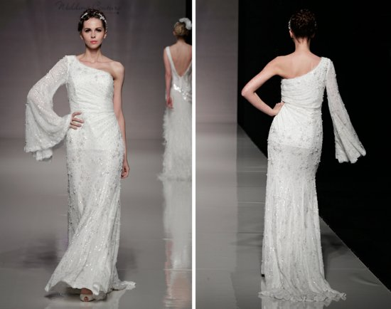 2013 wedding dresses bridal gown inspiration white gallery london asymmetrical neckline