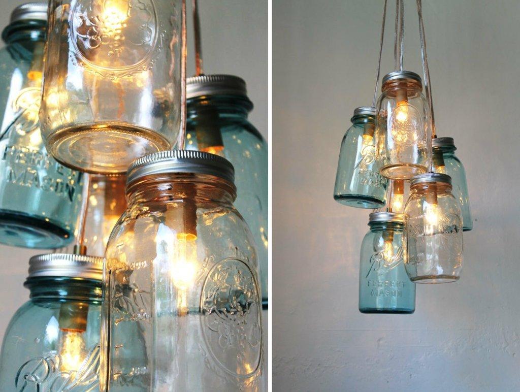 vintage weddings chandeliers with mason jars – Vintage Chandeliers