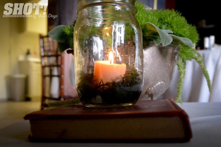 Wedding Ideas Using Mason Jars: Vintage Wedding Shoot With Mason Jar Centerpieces Votives