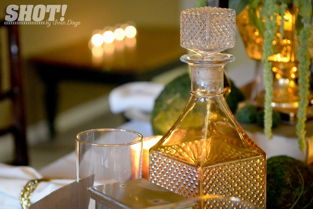 vintage wedding shoot with mason jar chandelier antiques as table decor