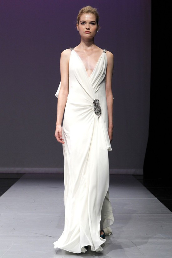 wedding dress rivini bridal fall 2012 magdalena